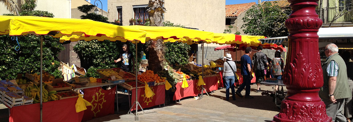 Markttag in Saint-Pierre-la-Mer